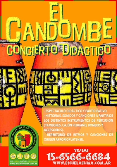 taller candombe 2013 high El Candombe